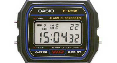 CASIO F-91W-1