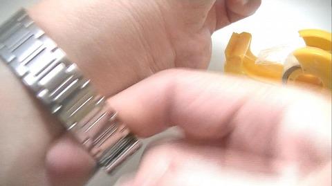 スライド式ベルトの調整方法