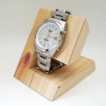 自作ペーパークラフトの腕時計スタンド展開図を公開!