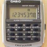 カシオ腕時計レビュー!データバンク・カリキュレーターCA-506-1