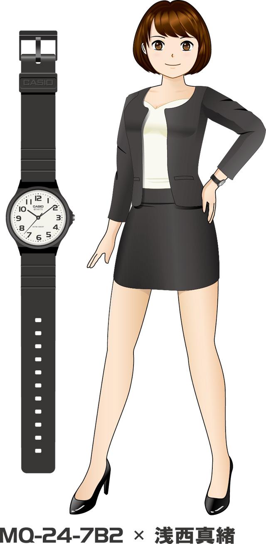 カシオ腕時計 擬人化プロジェクト「萌えカシ」