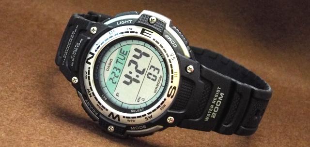 カシオ腕時計SGW-100-1