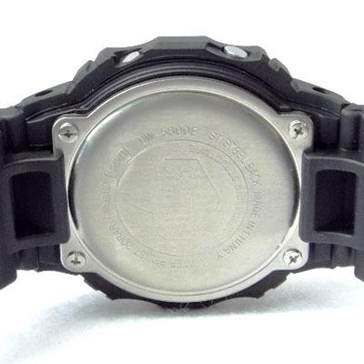 カシオ腕時計DW-5600E-1裏蓋