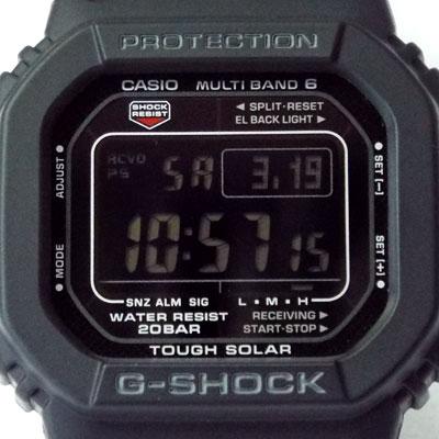 カシオ腕時計GW-M5610BC-1文字盤のデザイン