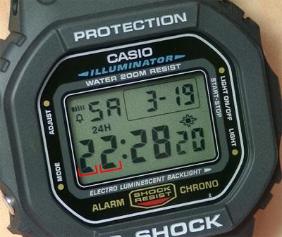 G-SHOCK DW-5600E-1