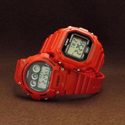 カシオ腕時計・チープカシオ「F-108WHC-4A & W-214HC-4A」