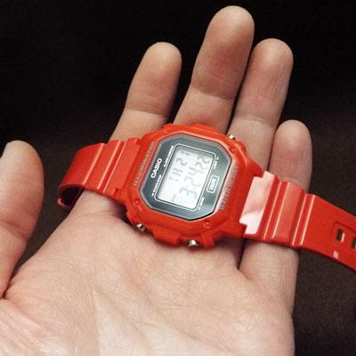 カシオ腕時計・チープカシオ「F-108WHC-4A」