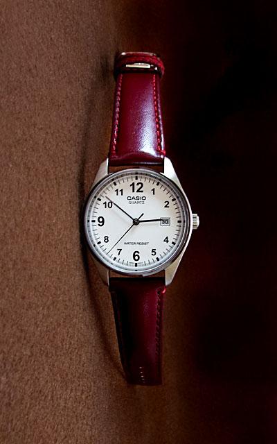 バンビ・スコッチガードでアップグレードしたカシオ腕時計MTP-1175E-7B