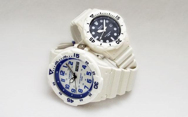 カシオ腕時計MRW-200HC-7B2 & LRW-200H-1E
