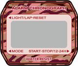 チープカシオ(A158WA-1)カスタム文字盤バージョン3