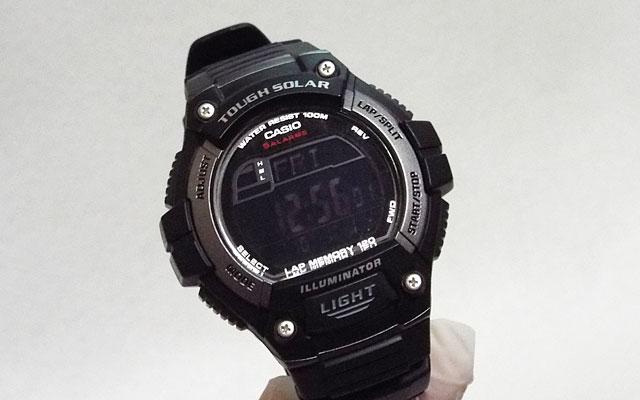 反転液晶を移植したカシオ腕時計W-S220-1A