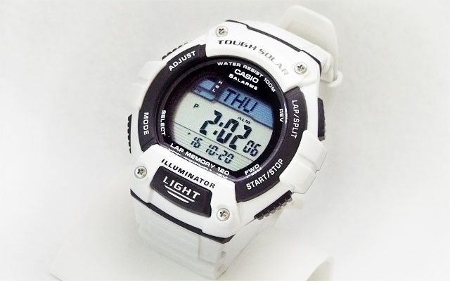 W-S220-1Aと中身を入れ替えたカシオ腕時計W-S220C-7B