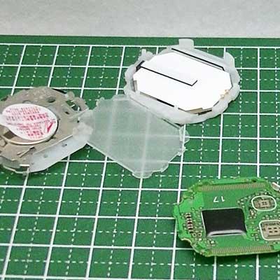 カシオ腕時計W-S220-1Aの中身を分解