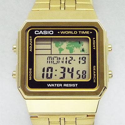 カシオ腕時計A500WGA-1