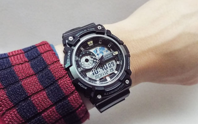 カシオ腕時計AEQ-200W-1A