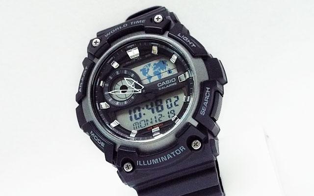 カシオ腕時計AE-1200WH-1A