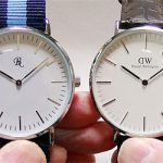 ダイソーの腕時計(500円)とダニエルウェリントンを徹底比較!