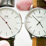 シンプル腕時計対決!カシオ VS ダニエルウェリントン