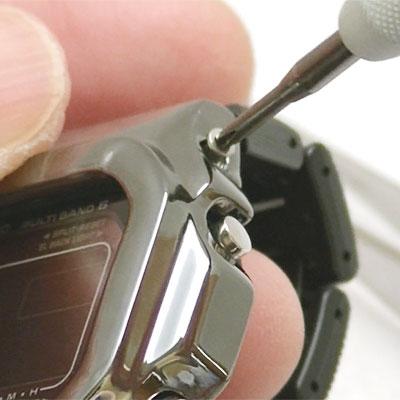 カスタムG-SHOCK GW-M5610BC-1JF クロームブラックベゼル仕様カスタム手順