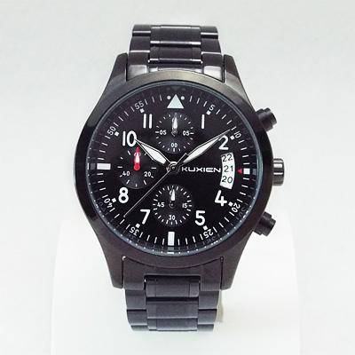 激安中華腕時計「KUXIEN」クロノグラフ