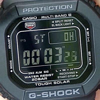 フルメタルG-SHOCK「GMW-B5000D-1JF」レビュー!