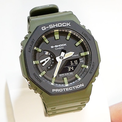 CASIO G-SHOCK GA-2110SU-3A レビュー!