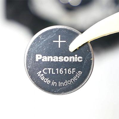 カシオ・タフソーラーの電池交換